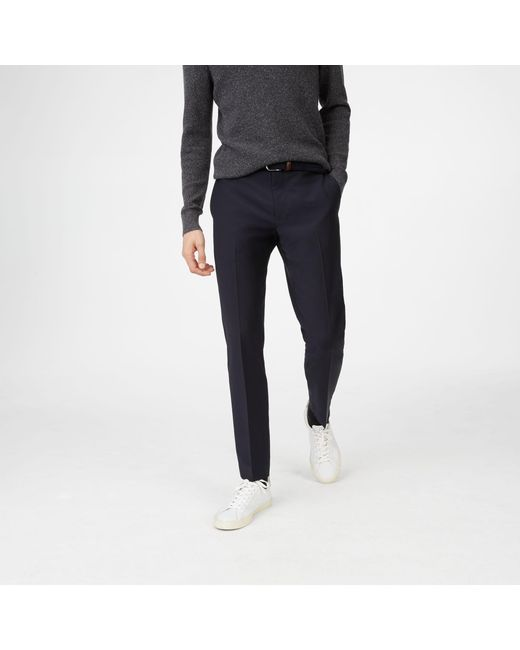 Club Monaco - Blue Sutton Trouser for Men - Lyst