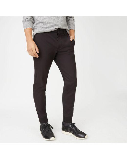 Club Monaco - Black Modern Tech Pant for Men - Lyst