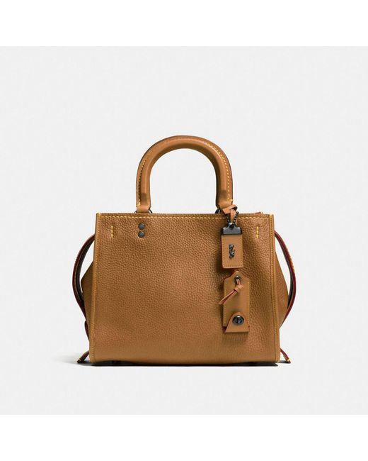 COACH - Multicolor Rogue Bag 25 In Glovetanned Pebble Leather - Lyst