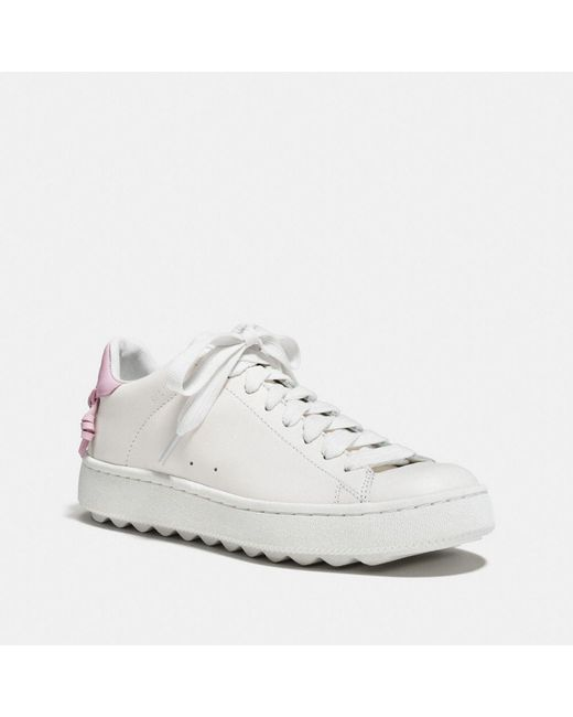 Coach C101 Low Top Sneaker In Pink Lyst