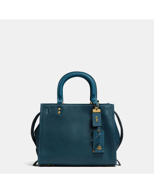 COACH | Multicolor Rogue 25 In Glovetanned Pebble Leather | Lyst