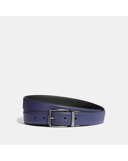 a1af9d29792c Lyst - COACH Harness Cut-to-size Reversible Belt in Black for Men
