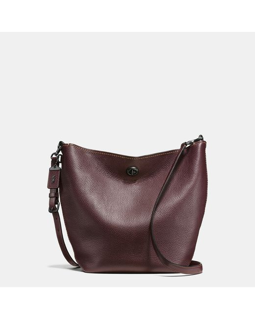COACH | Multicolor Duffle Shoulder Bag In Glovetanned Pebble Leather | Lyst