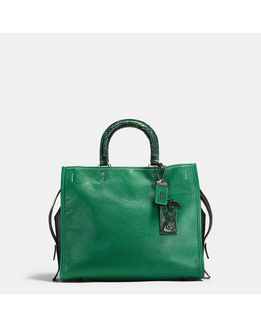 COACH | Multicolor Rogue With Colorblock Snake Detail | Lyst