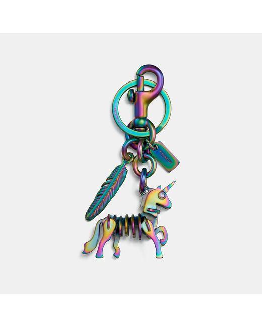 COACH - Multicolor Skeletal Uni Bag Charm - Lyst