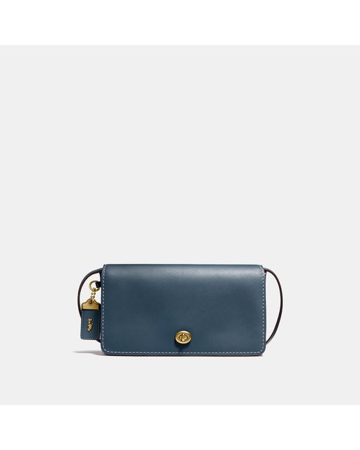COACH - Multicolor Dinky Crossbody In Glovetanned Leather - Lyst