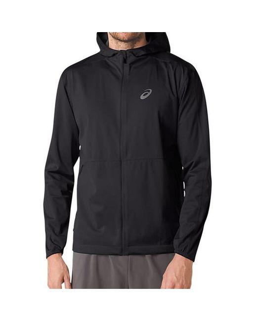 Asics - Black Accelerate Jacket for Men - Lyst