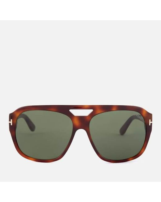 4eb75a8aa6c Tom Ford - Green Men s Bachardy Sunglasses for Men - Lyst ...