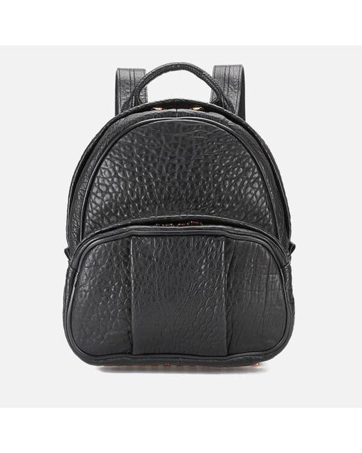 Alexander Wang - Black Women's Dumbo Pebble Leather Backpack - Lyst