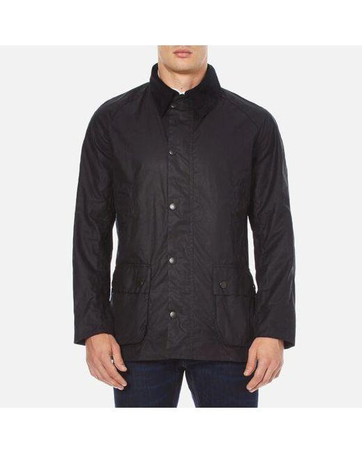 Barbour - Blue Men's Ashby Wax Jacket for Men - Lyst