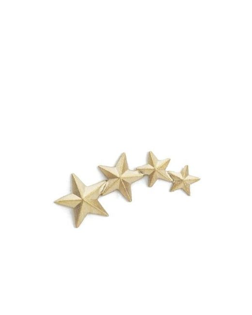 Line & Jo   Metallic Women's Miss Ewell Gold Star Earring (right)   Lyst