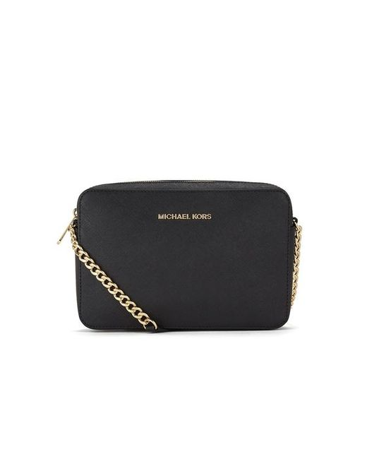 MICHAEL Michael Kors | Black Women's Jet Set Large East West Cross Body | Lyst