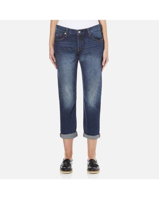 Levi's | Blue Levi S Cropped Jeans | Lyst