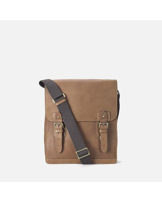 Aspinal | Brown Men's Small Shadow Messenger Bag for Men | Lyst