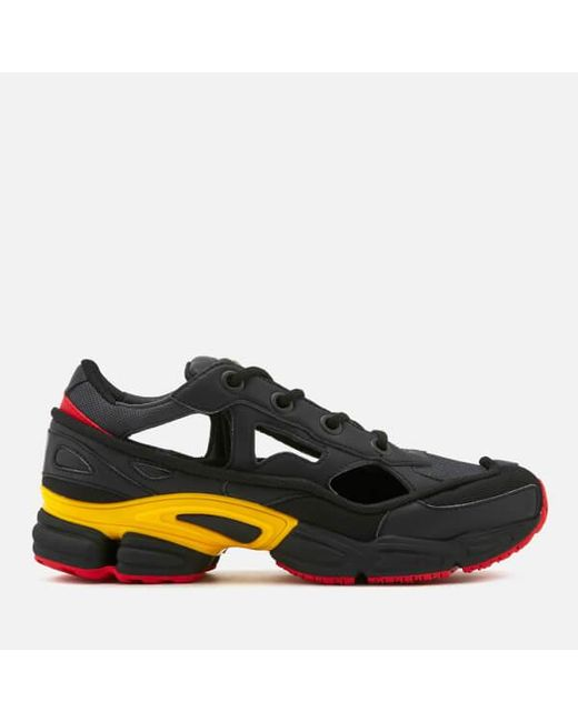 46c41cd58616aa Adidas By Raf Simons - Black Men s Replicant Ozweego Trainers for Men ...
