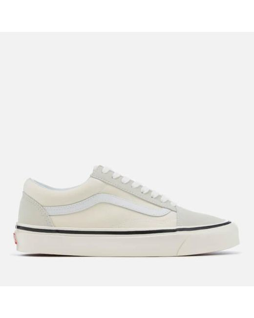 b3a802481b38 Vans - White Anaheim Old Skool 36 Dx Trainers for Men - Lyst ...