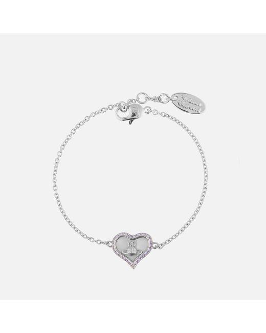 Vivienne Westwood Metallic Petra Bracelet