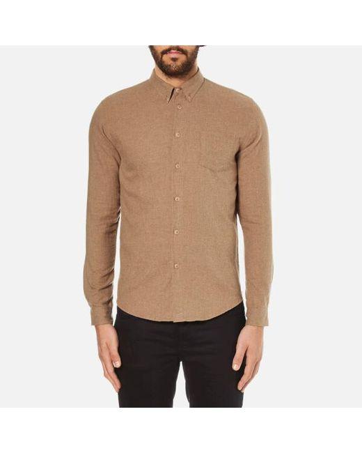 Folk   Multicolor Men's Button Down Long Sleeve Shirt for Men   Lyst