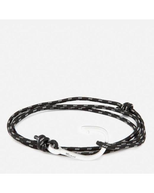 Miansai - Metallic Men's Rope Bracelet With Silver Hook for Men - Lyst
