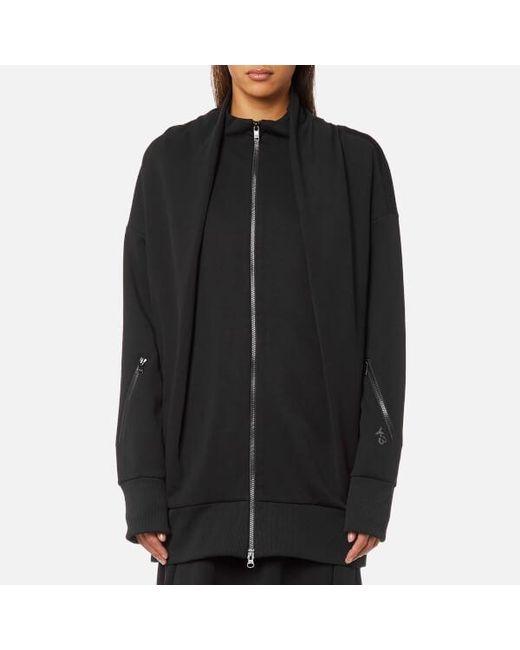 lyst y 3 y3 women s matte track jacket in black