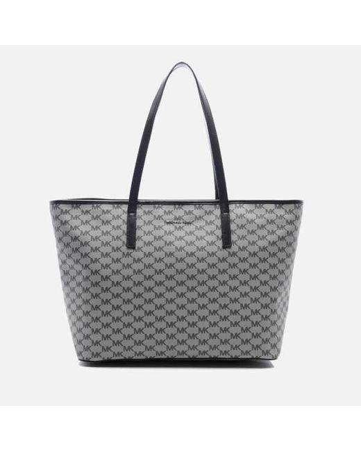 MICHAEL Michael Kors   Black Women's Emry Large Top Zip Tote Bag   Lyst