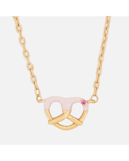 Marc Jacobs - Metallic Women's Something Special Pretzal Pendant - Lyst