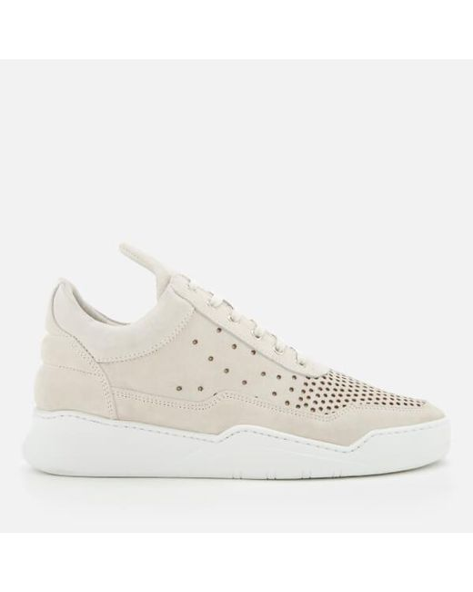 Filling pieces Men's Ghost Gradient Perforated Low Top Trainers - - UK 7 jUA8syJqu