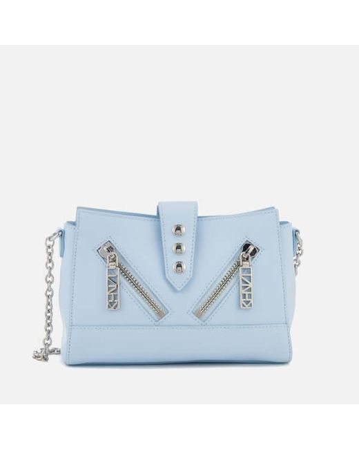 KENZO - Blue Women's Kalifornia Mini Shoulder Bag ...