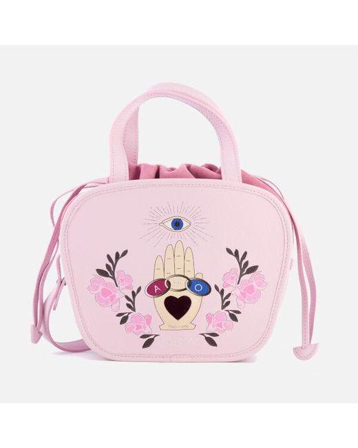 Meli Melo | Pink Women's Rosetta Cross Body Bag | Lyst
