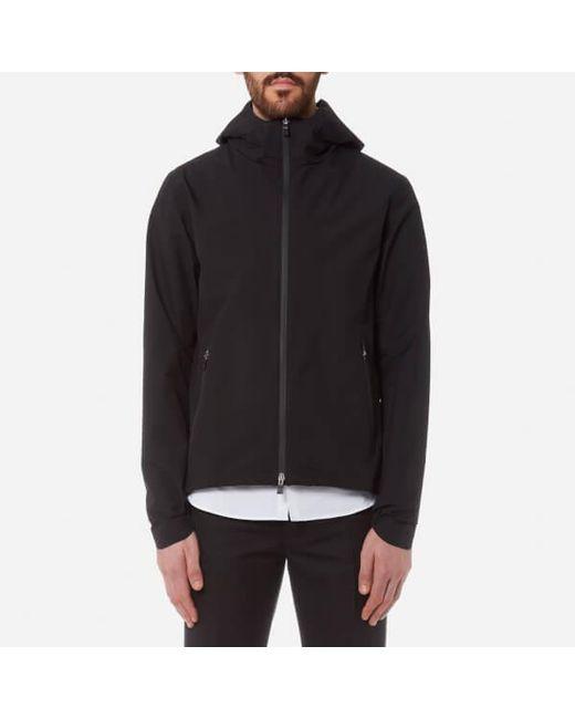 Herno - Black Men's Laminar Hooded Jacket for Men - Lyst