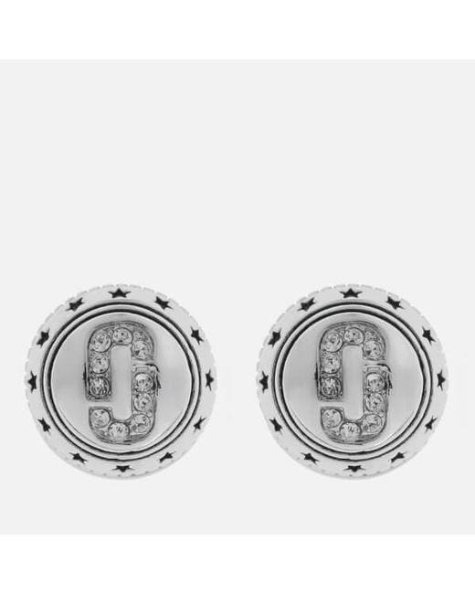 Marc Jacobs - Metallic Women's Medallion Studs - Lyst