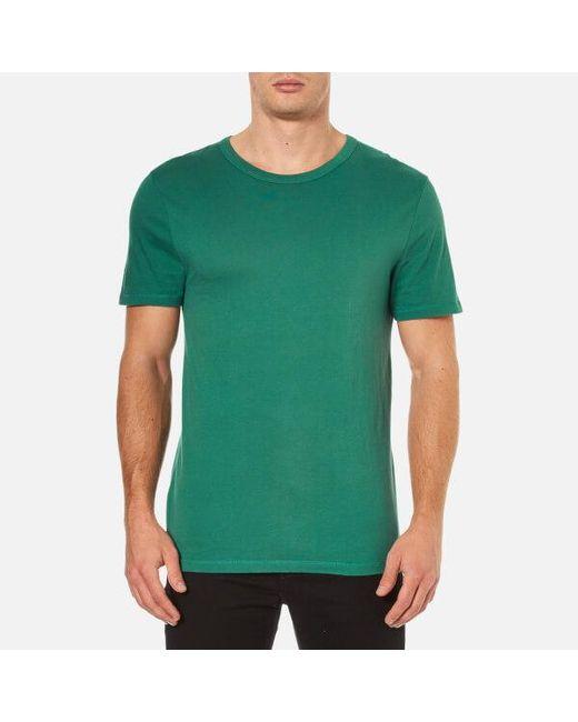 T By Alexander Wang   Green Men's Classic Pima Cotton Tshirt for Men   Lyst