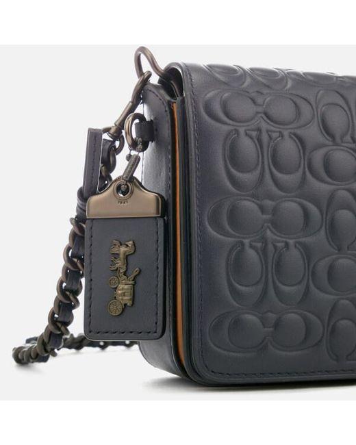 32659a39ea7 ... Lyst COACH - Blue Women s Dinky Cross Body Bag ...