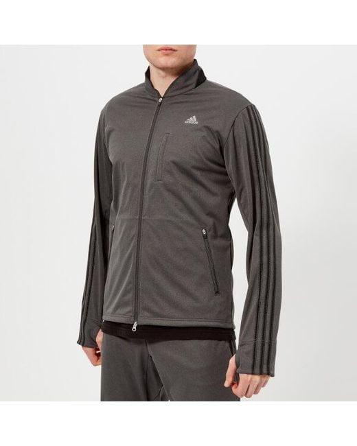 Adidas Originals - Gray Men's Track Jacket for Men - Lyst
