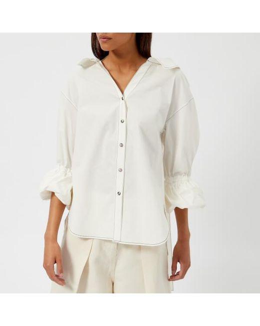Rejina Pyo - White Women's Amber Shirt - Lyst