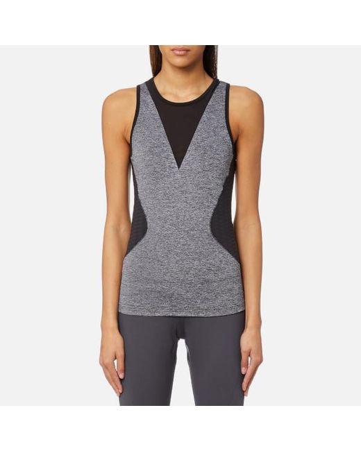 066189631e Lyst - adidas By Stella McCartney Women s Training Tank Top in Black ...