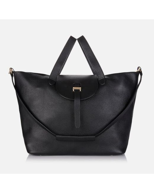 Meli Melo Women s Thela Tote Bag in Black - Save 23% - Lyst 8321ee6ba760f