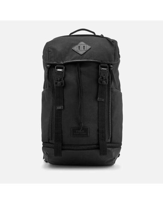 Polo Ralph Lauren - Black Men\u0027s Medium Canvas Backpack for Men ...