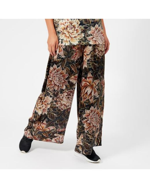 Y-3 - Multicolor Y3 Women s All Over Print Wide Pants ... 8918d83a84