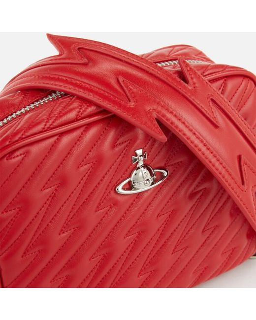 70d4701bff ... Vivienne Westwood - Red Women's Coventry Camera Bag ...