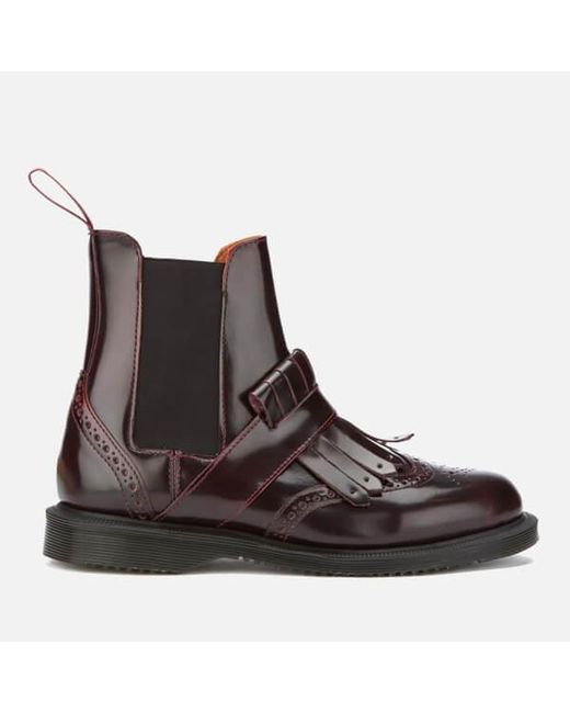 Dr. Martens Beatles Tina in brushed leather women's Mid Boots in Outlet Footlocker Extremely For Sale pBTMeKU9
