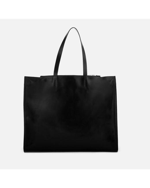 a01e8cf71e KENZO Logo Print Tote Bag in Black - Save 58% - Lyst