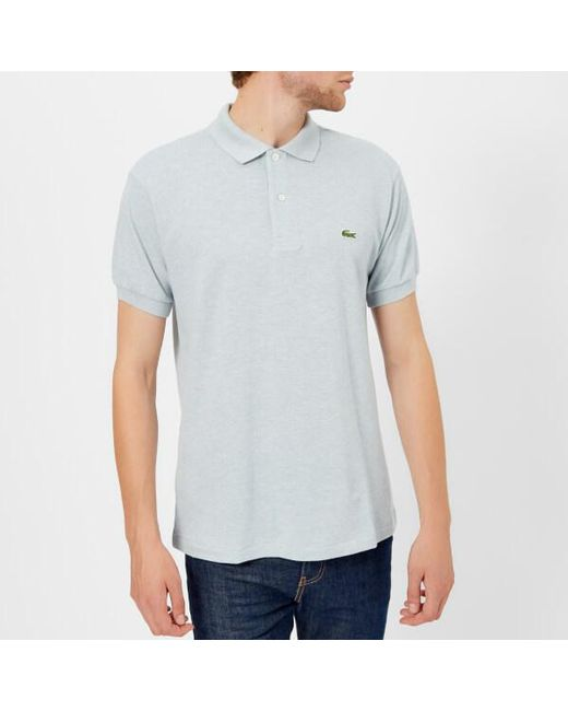 25046f901 Lyst - Lacoste Men s Classic Fit Polo Shirt in Blue for Men