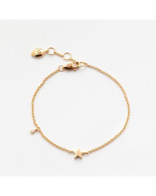 Missoma | Metallic Women's Gold Star Bracelet | Lyst