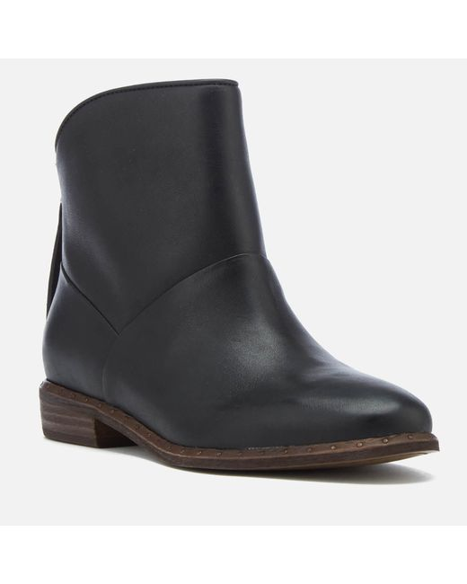 6d0beeea961f ... Ugg - Black Bruno Leather Ankle Boots - Lyst ...