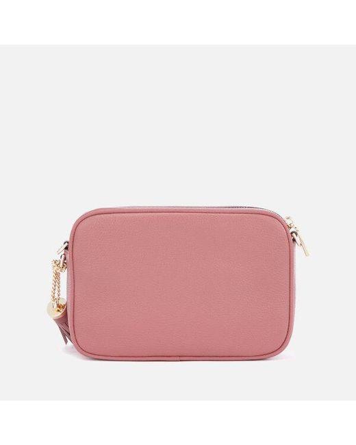 38a398370c5a4 ... Lyst MICHAEL Michael Kors - Pink Women s Ginny Medium Camera Bag ...