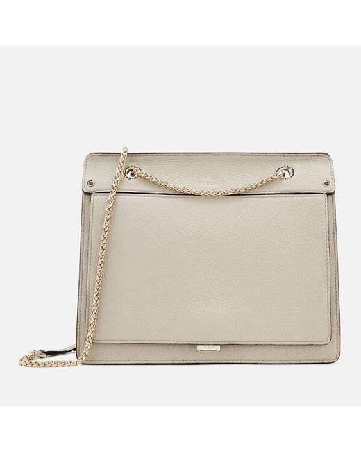 ffaba86d9123 Furla - Gray Women s Like Small Chain Cross Body Bag - Lyst ...
