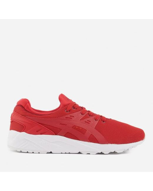 Asics | Red Men's Gelkayano Evo Trainers for Men | Lyst