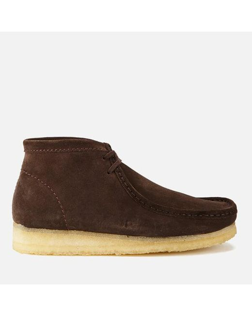 Clarks - Brown Wallabee Boots for Men - Lyst
