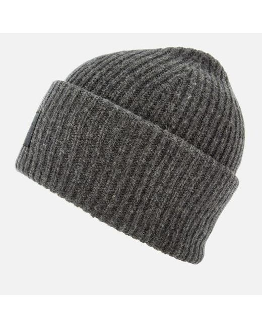 ... Lyst Acne - Gray Men s Pansy L Face Beanie Hat for Men ... da239cd6597e